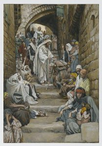In The Villages the Sick Were Presented to Him