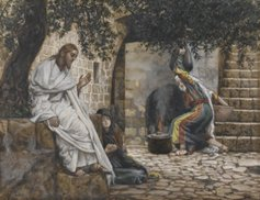 Mary Magdalene at the Feet of Jesus