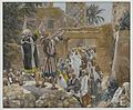 The Two Blind Men at Jericho James Tissot Brooklyn Museum