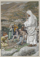 The Possessed Boy at the Foot of Mount Tabor James Tissot Brooklyn Museum