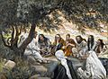 The Exhortation to the Apostles James Tissot Brooklyn Musuem