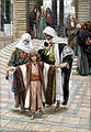 Jesus Found in the Temple James Tissot Brooklyn Museum