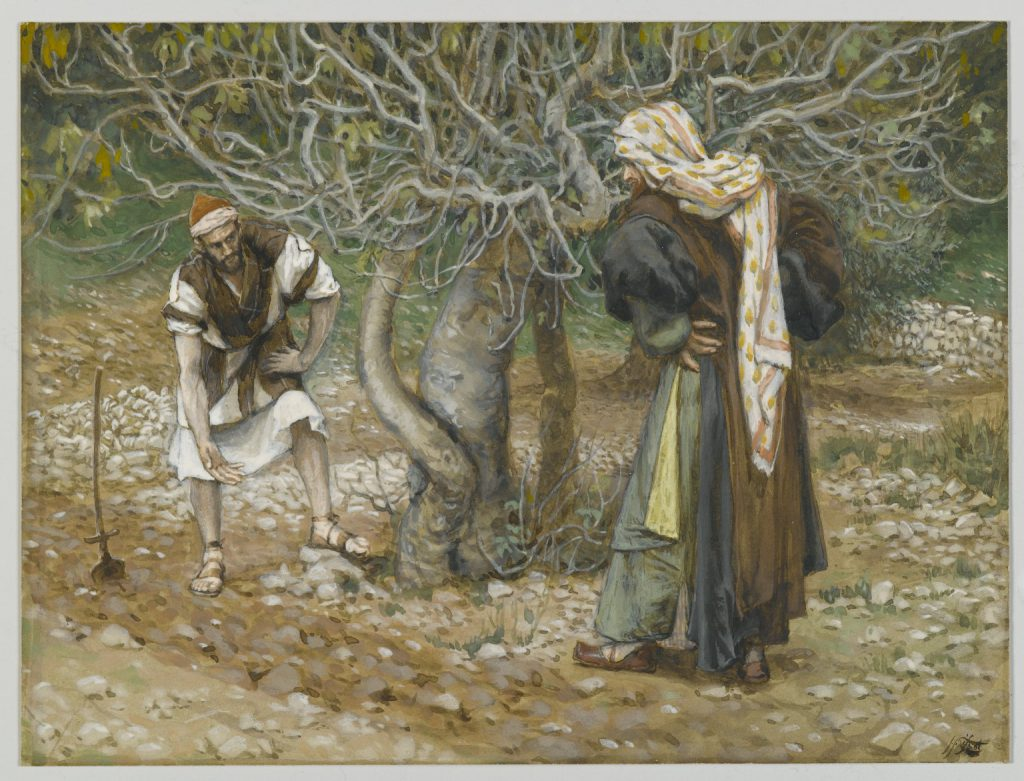 The Vine Dresser and the Fig Tree James Tissot Brooklyn Museum full size