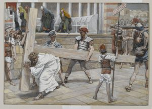 Jesus Bearing the Cross James Tissot Brooklyn Museum full size